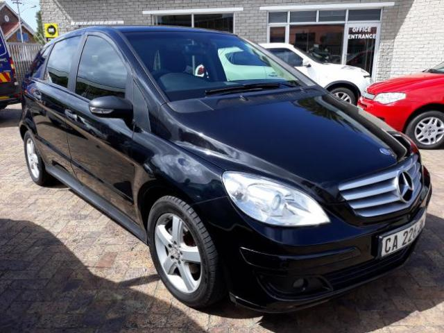 Used 2008 Mercedes Benz B Class B170 For Sale In Cape Town Western